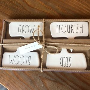 Accessories - Rae Dunn plant markers Grow Bloom Seed Flourish